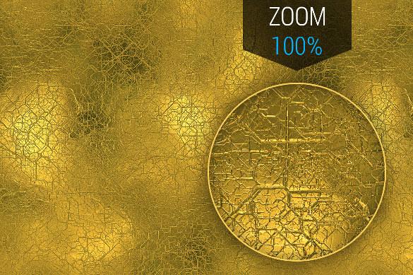 shiny golden texture