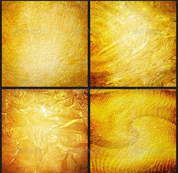golden surface texture