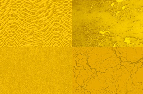 collection of golden texture