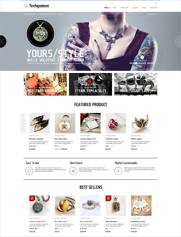 jewelry woocommerce wordpress theme