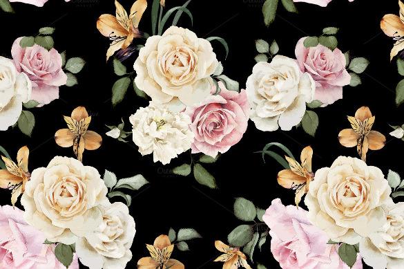 designed floral pattern
