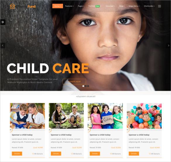 nonprofit fundraising non profit bootstrap template 17