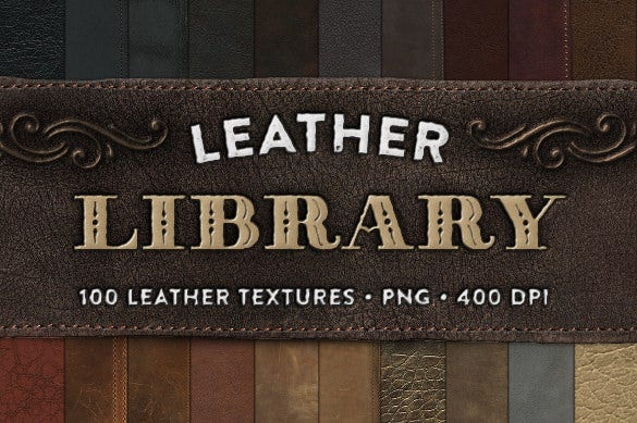 western leather texture