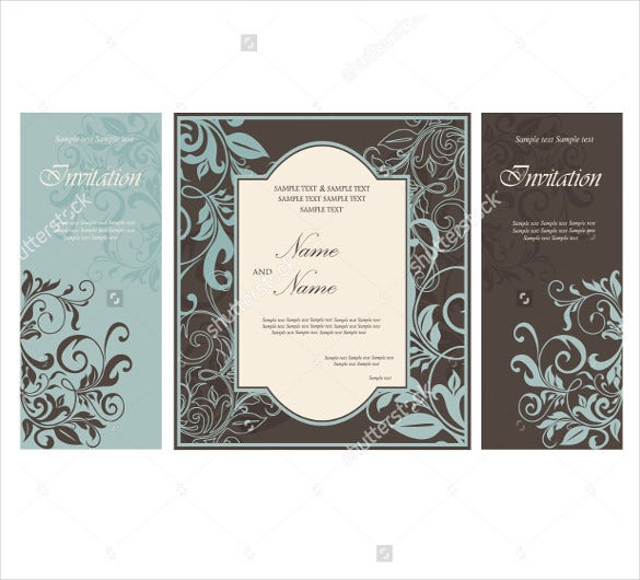 wedding brochure template hasle free download