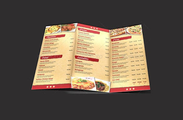 22+ Pizza Menu Templates – Free Sample, Example Format Download