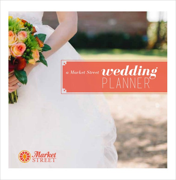 market sheet of wedding planner template download