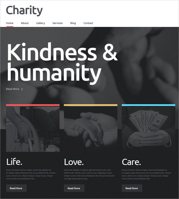 fundraising charity non profit html5 wordpress theme 752