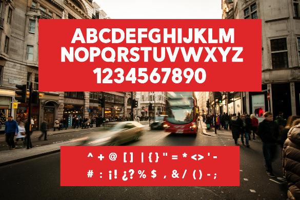 modern creative fonts