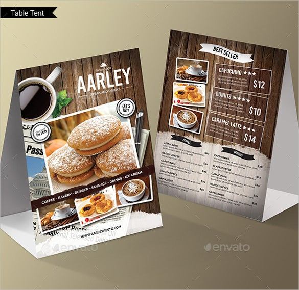 cafe menu pack psd format template download
