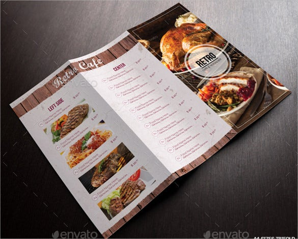 restaurant cafe menu pack ai illustrator format downlaod