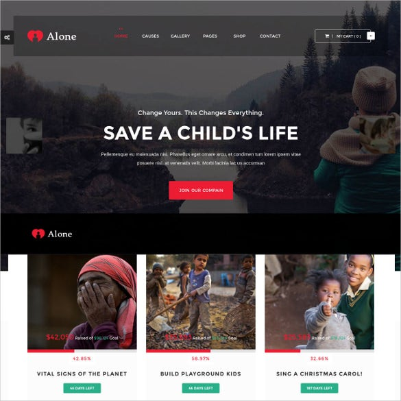 charity multipurpose non profit html5 wordpress theme 591