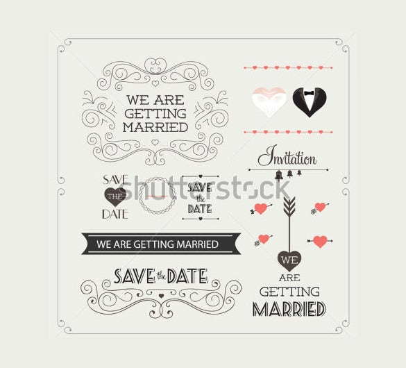 vintagee wedding banner template