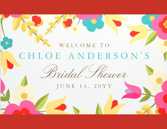 country floers wedding banner template download