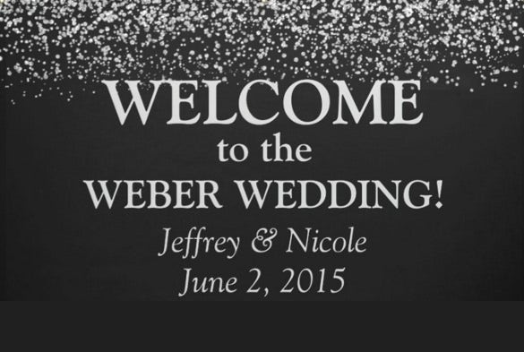 colorful background wedding banner template download