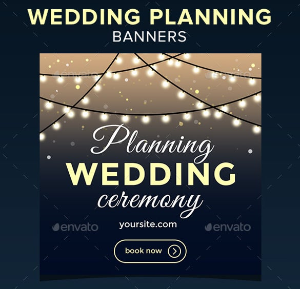 wedding ceremony banner template download