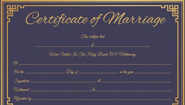 weddingcertificate