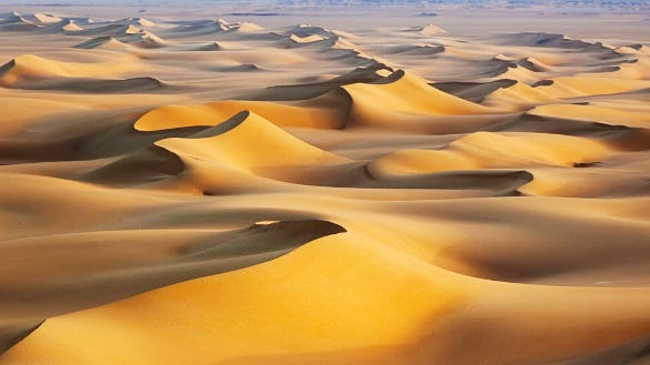 sand dunes sunrise white desert egypt nature wallpaper