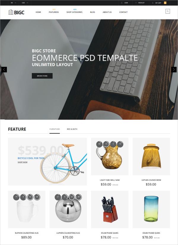 Responsive Ecommerce Drupal Theme