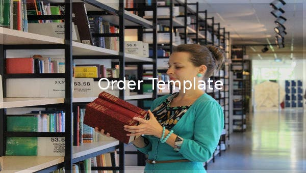 order template