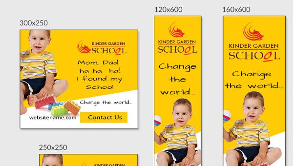 kindergartenschooladbannerdownload