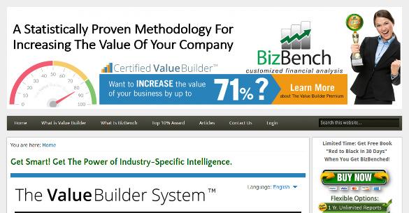 bizbench benchmarking analysis tool
