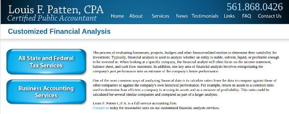 loupattencpa financial analysis tool