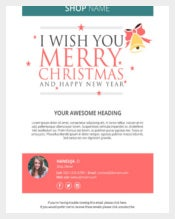 Best Holiday Email Greeting Template