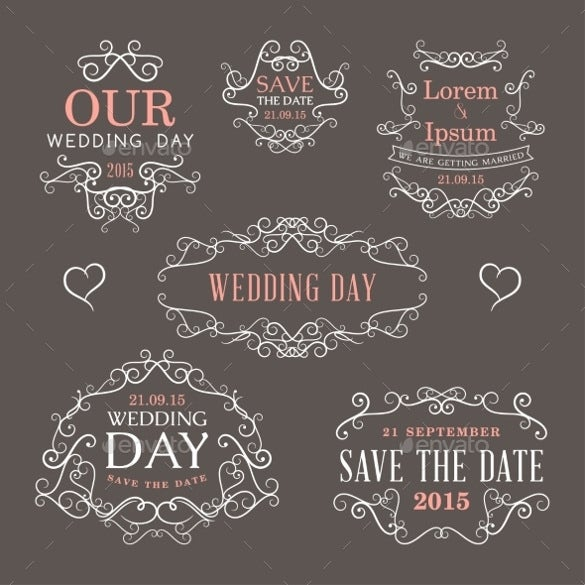 bright backgroun wedding template download