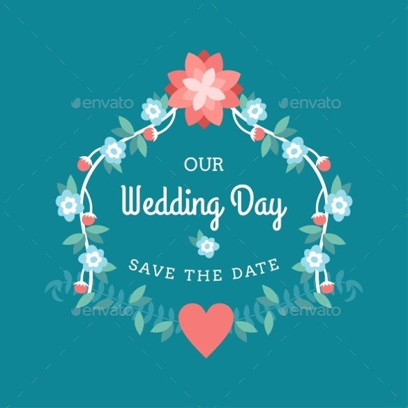 blue background wedding label template download