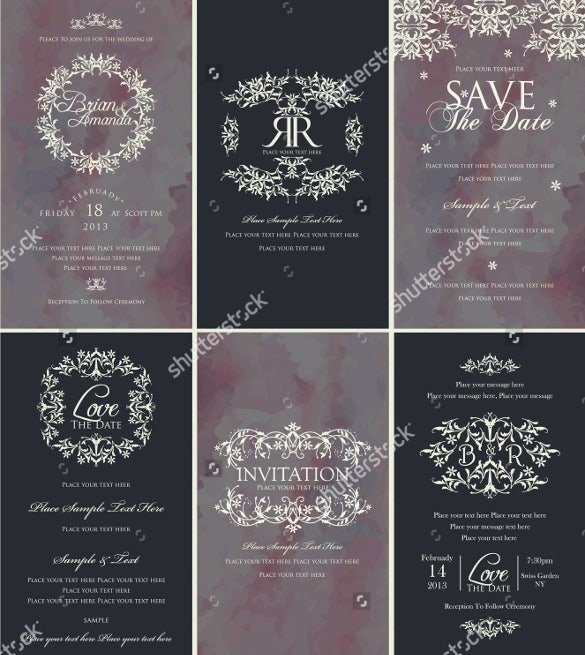 designed wedding background template download