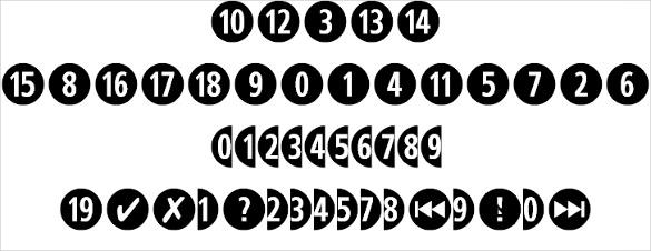 combi numerals font ttf format download