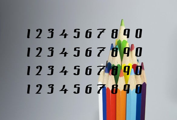 the black bloc numeric font free download