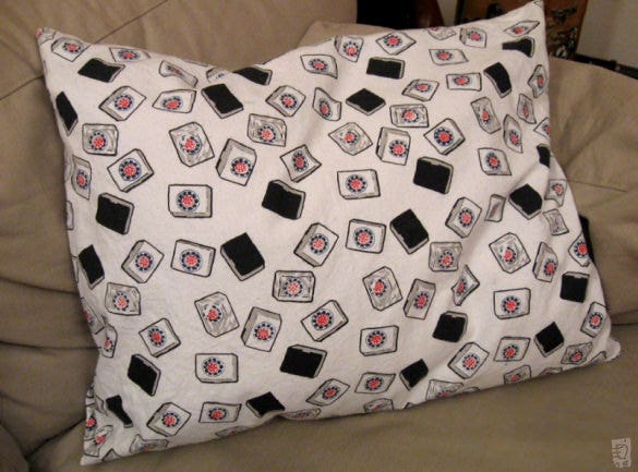 i pin pillowcase pattern