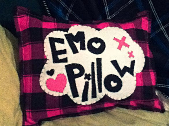 emo pillowcase pattern