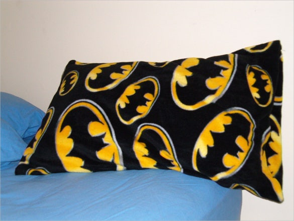 batman pillowcase pattern