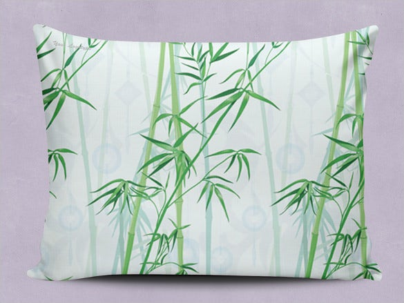 nature pillowcase pattern