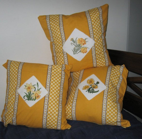 flower pillowcase pattern