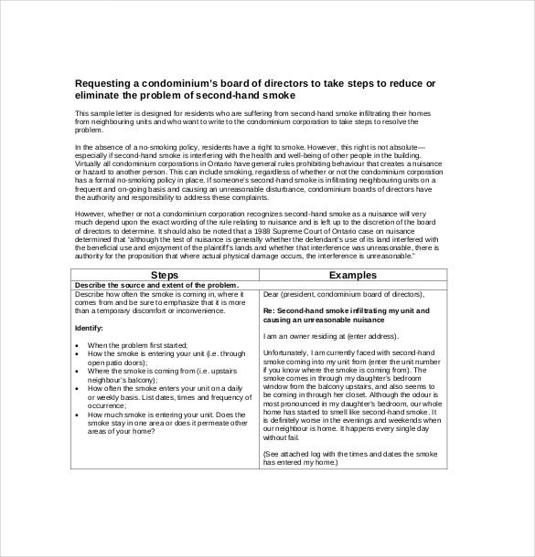 Employee Complaint Letter   Free Word Pdf Documents Download
