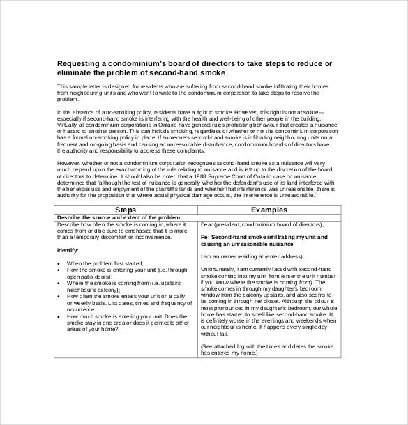 formal letter of complaint pdf format3