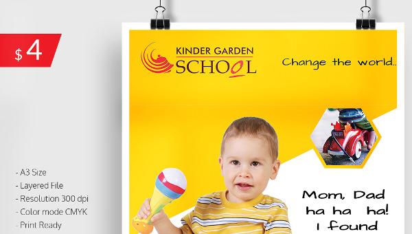 kindergartenschoolpostertemplate