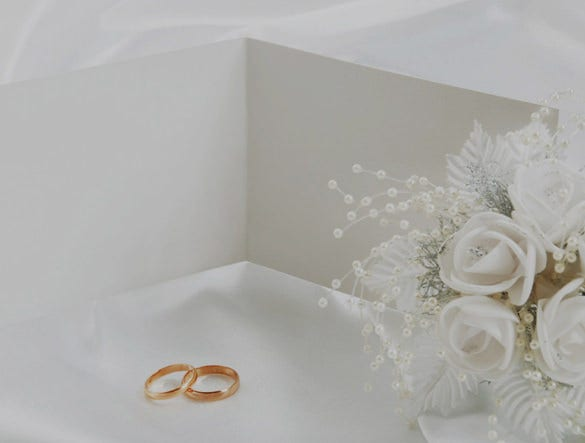 ready to print wedding powerpoint template download