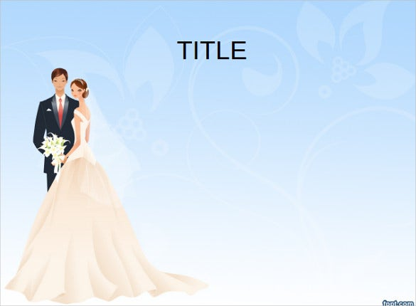 Wedding Powerpoint Template   Free Ppt Pptx Potx Documents
