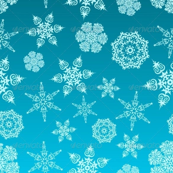 nature snowflake pattern