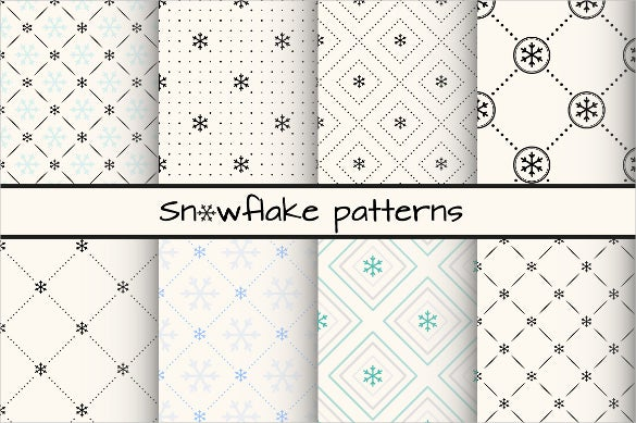 decorative snowflake pattern
