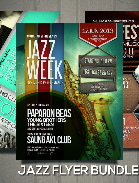 dance on jazz poster bundle premium download