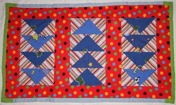 modern baby quilt pattern download