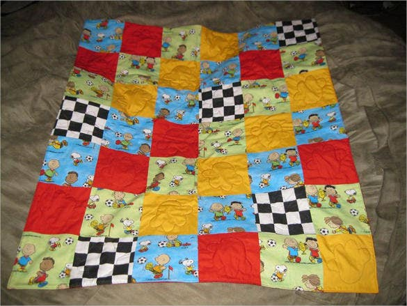 baby boy quilt pattern download