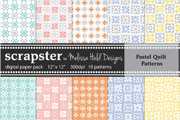 pastels bby quilt pattern download