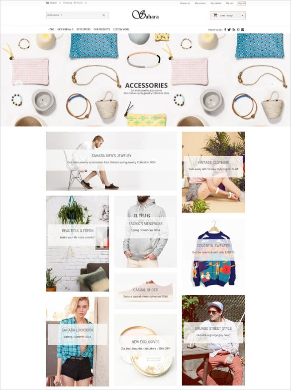 ultimate responsive jewelry prestashop theme
