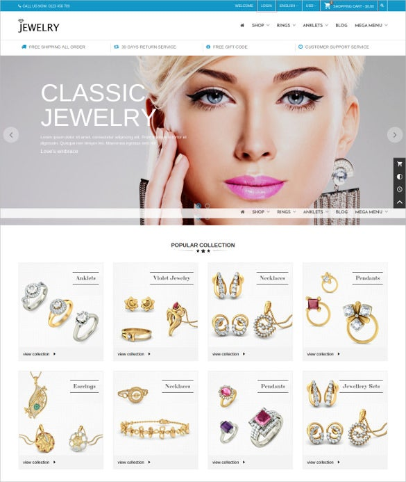 jewelr responsive prestashop theme